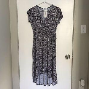 NEW Gilli Nancy Faux Wrap Printed Dress